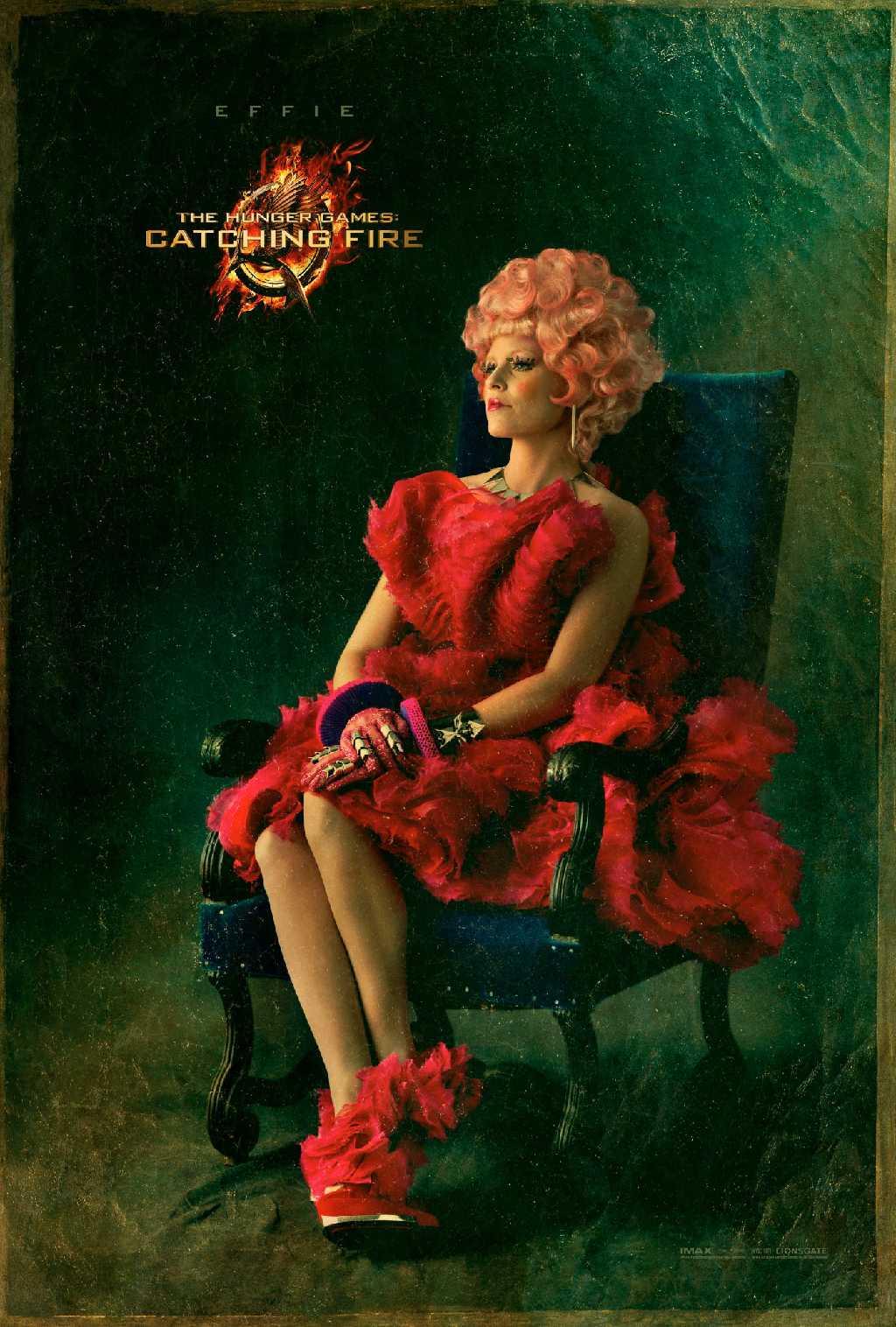Hunger Games Capitol Portrait Series 01 - Effie Trinket